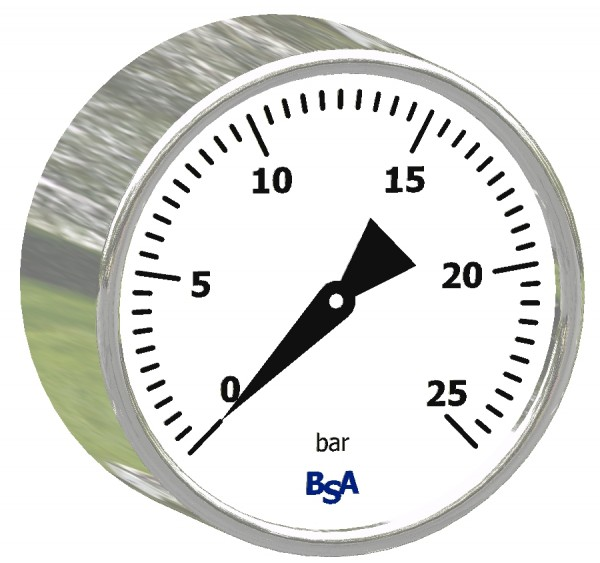 D20, Chemie-Manometer, axial